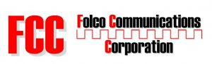 Folco Communications Corporation Logo Black